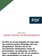 Clase CPU Botones