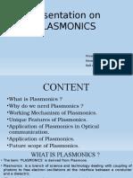 Presentation on Plasmonics