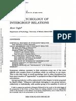 *1982_Tajfel_Social psychology of intergroup relations.pdf