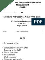 'Measurement' for PT Perumahan Pembangunan, Bogor 2011