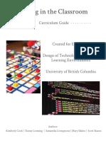 coding in the classroom  currirulum guide