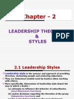 Leadership & Change Mgt- CH-2