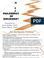 What is the Seismic Design Philosophy of Buildings