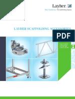 Layher Scaffolding Accessories Catalogue, Ref.no.8103.254, Edition 04.2015
