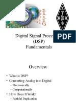 Digital Signal Processing Fundamentals