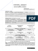 Audited Financial Statement for 2015