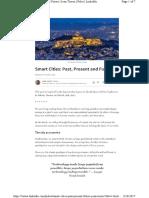 Smart Cities Past Present Future