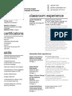 gabrielle green resume new