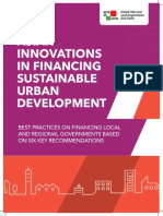 Asian Innovations in Financing Sustainable Urban Development