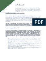 Parkinson - Stem Cell Therapy - GIOSTAR