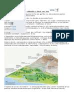 A Erosão Fluvial