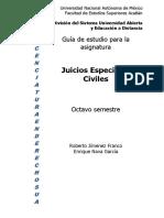 Juicios Especiales Civiles
