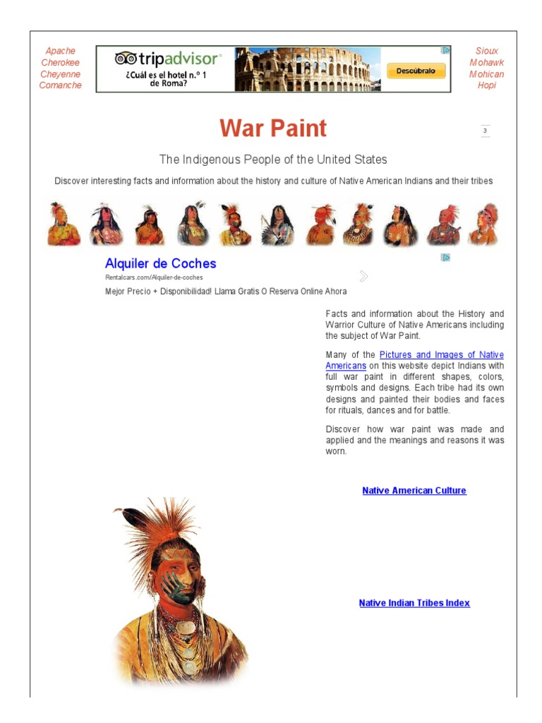 War paint meanings native americans in the united states paint biocorpaavc Images