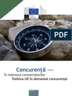 Politica U.E in Domeniul Concurentei