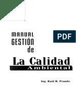 Manual de Gestión de La Calidad Ambiental