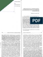 CARVALHO (2003). A hermenêutica constitucional e os desafios postos aos direitos fundamentais