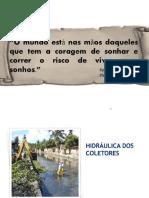 9 Aula_ Hidráulica Dos Coletores e Critérios de Dimensionamento