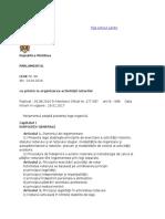 Legea cu Privire La Organizarea Activităţii Notarilor