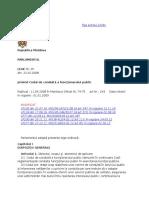 Codul de Conduită a Funcţionarului Public