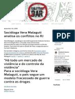 Batista Mercado Violencia Rio