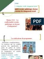 Thème 2211 -  conflits sociaux pathologie ou facteur d'insertion.ppt