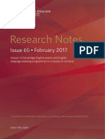 Language Assessment - Research Book - Issue 65