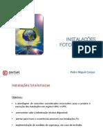 Apresentação Formação Fotovoltaicas