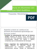 lectoescrituraenalumnoscondiscapacidadauditiva-120502081808-phpapp01