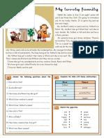 Worksheet for Reading 3