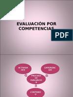 EVALUACIÓN POR COMPETENCIAS.ppt