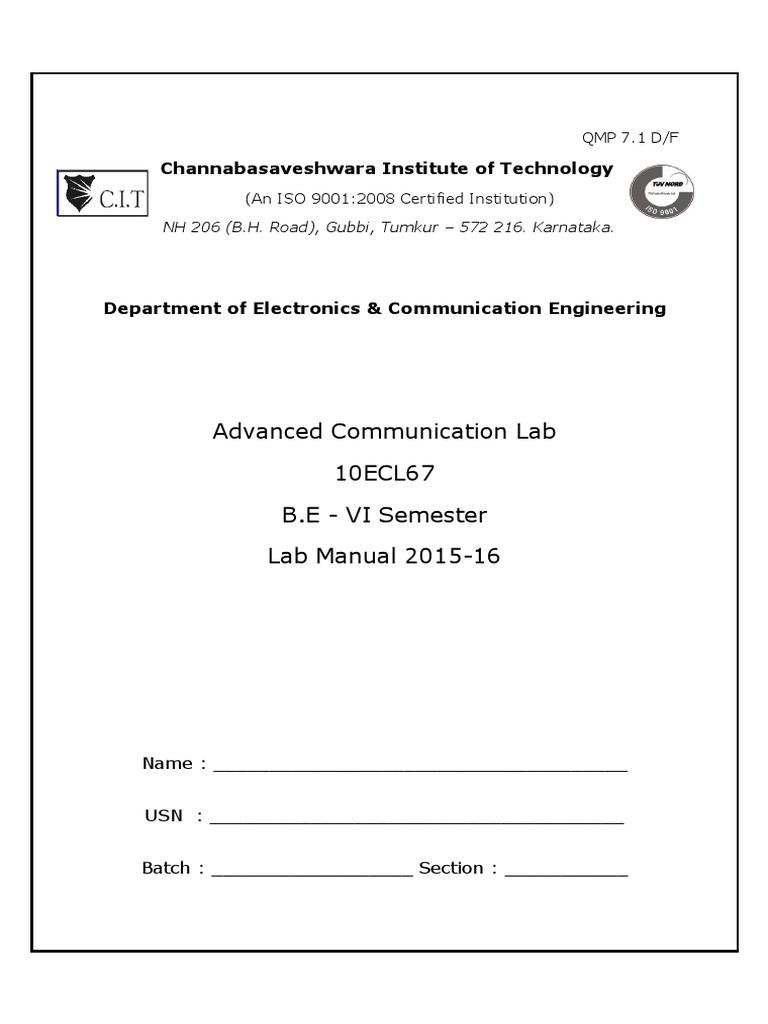 Adc Lab Manual 10ec67 Detector Radio Antenna Strength Meter Using Ic741