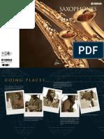 Saxophone catalogue
