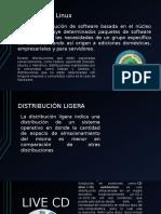 Linux y Sus Distribuciones