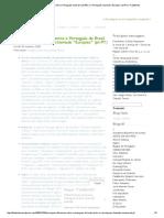 """Principais Diferenças Entre o Português Do Brasil (Pt-BR) e o Português Chamado """"Europeu"""" (Pt-PT) _ FalaBonito"""