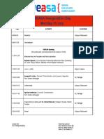 WEASA 2013 Programme