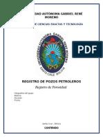 Grupo #10 - Informe Registros Petroleros