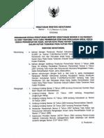 P.11 Thn 2008 Sistem Silikultur Pada HP