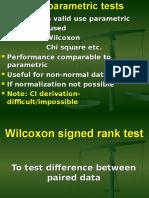 Wilcoxon Sign Rank Test