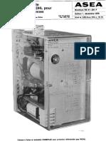 RK61-201F Fr RADHL Protection Differentielle Longitudinale Pour Cables Et Lignes Aeriennes