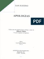Apologías - San Justino