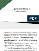 Les Agents Maritimes Et Consignataires