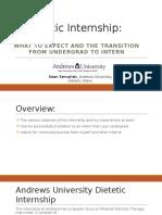 internship presentation servalishs