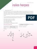 Antivirales Herpes Virus