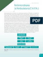 Terapia Antimicrobiana Parenteral Ambulatoria