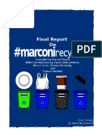 Marconi Recycles Final Report