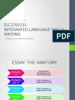 Class 1 - Essay Writing