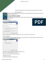 Install MiKTeX - MiKTeXorg