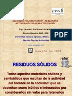 02. Definición y Clasificación de Residuos