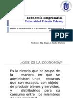 Sesion 1 Introducción Economía - Micro y Macro