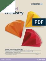 A Level Chemistry 2015 SAMs